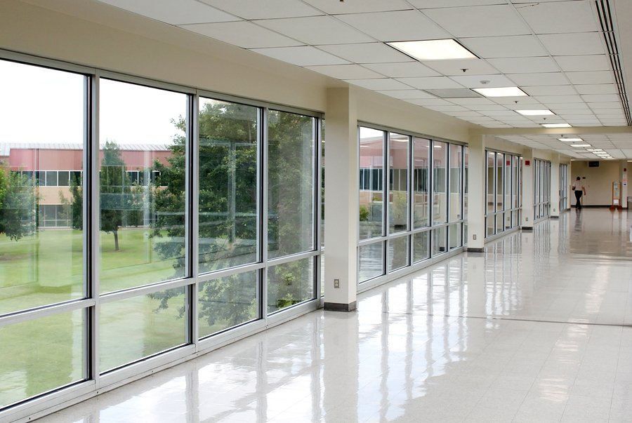 Building Glass Window : Commercial glass types public buildings
